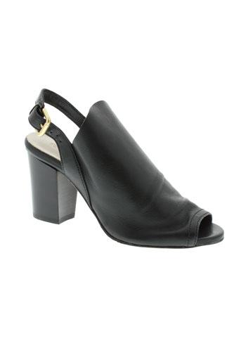 peperosa sandales et nu et pieds femme de couleur noir