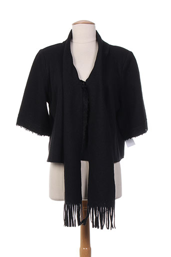 et liza... vestes femme de couleur noir