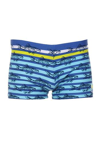 tuc tuc maillots de bain garçon de couleur bleu