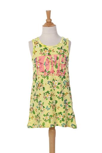 losan robes fille de couleur jaune