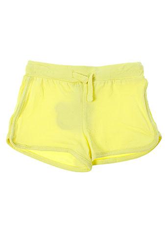 losan shorts / bermudas enfant de couleur jaune
