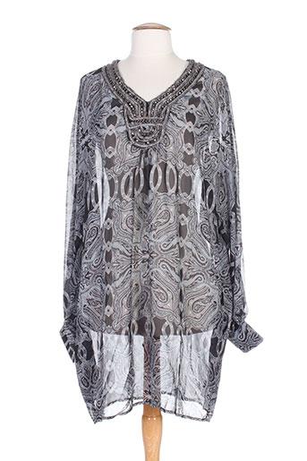 phard tuniques femme de couleur gris