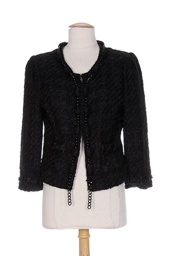 supertrash vestes femme de couleur noir