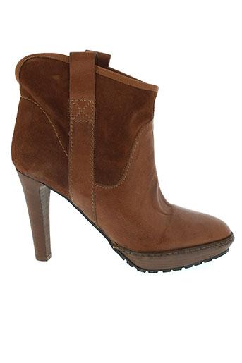 starfly chaussures femme de couleur marron