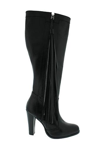 georges et rech bottes femme de couleur noir