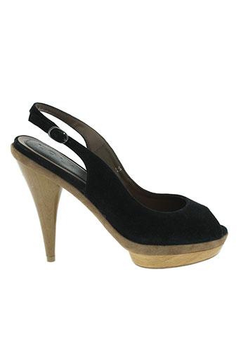 lola cruz chaussures femme de couleur noir