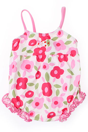 noukie's maillots de bain fille de couleur rose