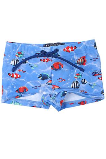 mayoral maillots de bain garçon de couleur bleu