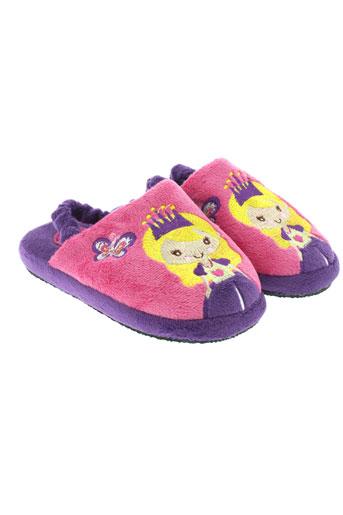 gioseppo et kids pantoufle fille de couleur violet