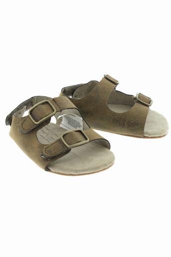 mayoral sandales et nu et pieds garcon de couleur marron