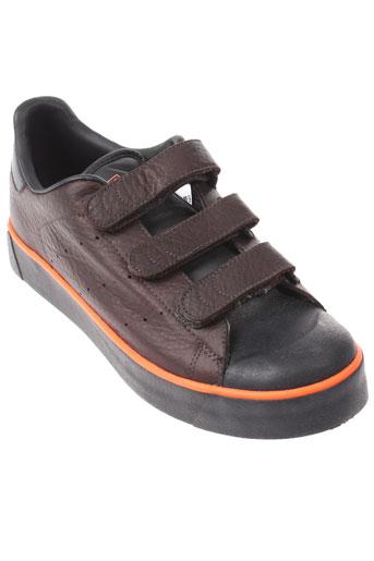 adidas baskets homme de couleur marron