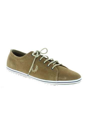 fred perry chaussures homme de couleur marron