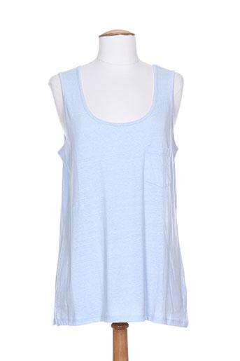 joules t-shirts femme de couleur bleu