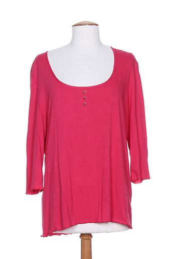 rosa rosam t-shirts femme de couleur rose