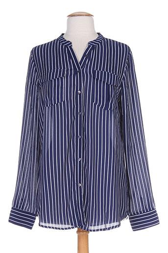 black mojito chemises femme de couleur bleu