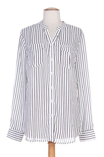 black mojito chemises femme de couleur blanc