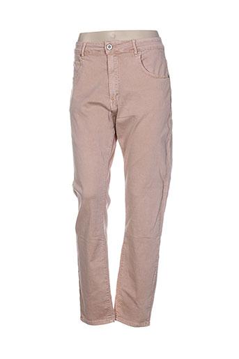 nana belle pantalons femme de couleur rose