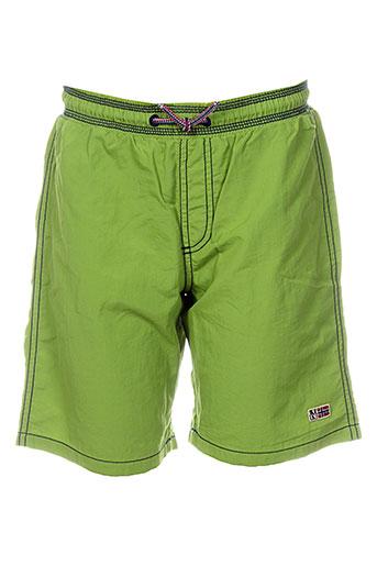 napapijri maillots de bain garçon de couleur vert