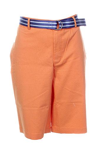 ralph lauren shorts / bermudas garçon de couleur orange