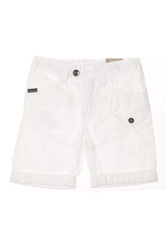 chevignon shorts / bermudas garçon de couleur blanc