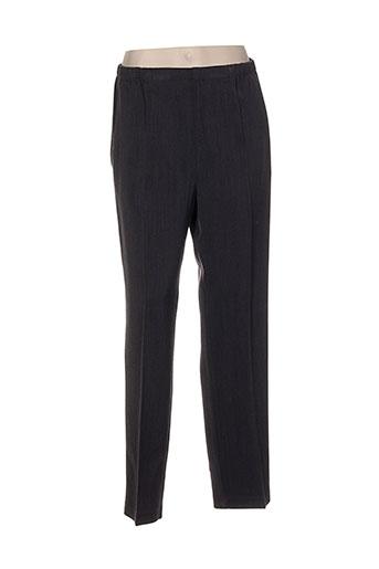 maryvet pantalons femme de couleur gris