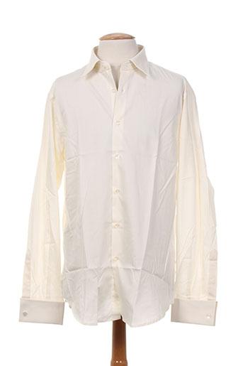smart chemises homme de couleur beige