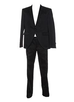 Costume de cérémonie noir CARLO PIGNATELLI pour homme