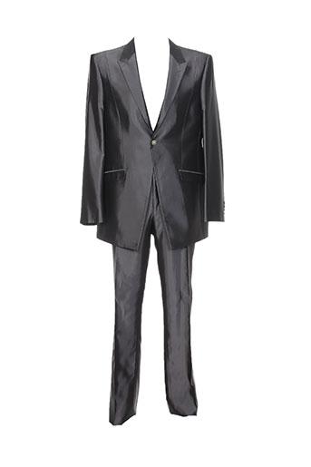 Costume de cérémonie gris CARLO PIGNATELLI pour homme