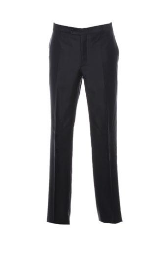 carlo pignatelli pantalons homme de couleur noir