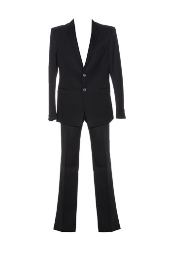 Veste/pantalon noir PAL ZILERI pour homme
