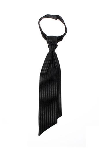Cravate noir CARLO PIGNATELLI pour homme