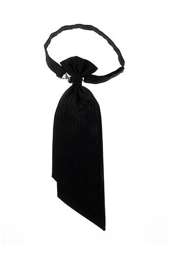 Cravate noir LUBIAM pour homme