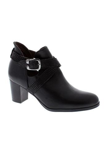 ayame boots femme de couleur noir