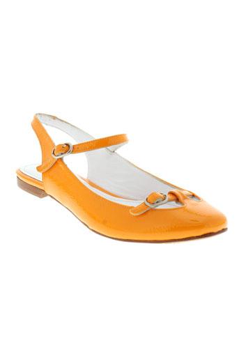 emma.go chaussures femme de couleur orange