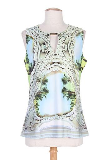etoile du monde chemises femme de couleur vert