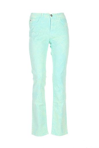 trussardi jeans jeans femme de couleur vert