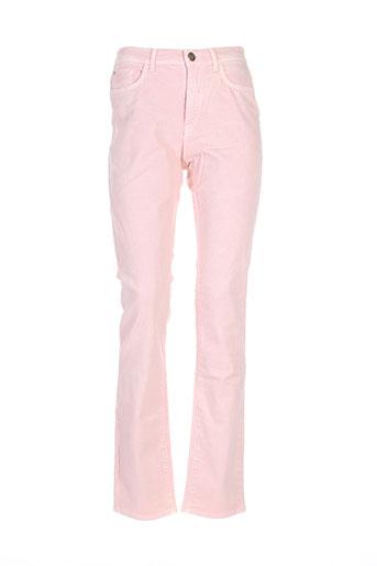 trussardi jeans jeans femme de couleur rose
