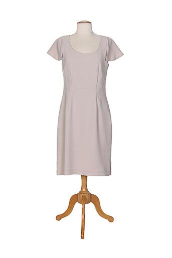 margot fontaine robes femme de couleur gris