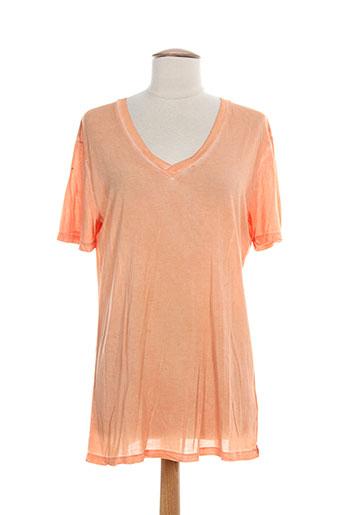 T-shirt manches courtes orange REDSOUL pour homme