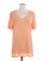 T-shirt manches courtes orange REDSOUL pour homme seconde vue