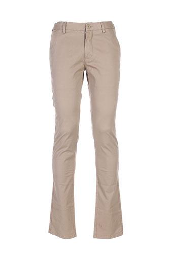berry denim pantalons homme de couleur beige