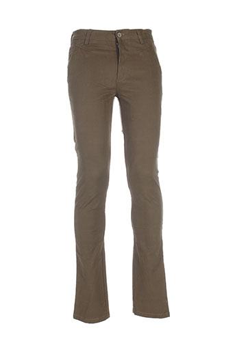 berry denim pantalons homme de couleur vert
