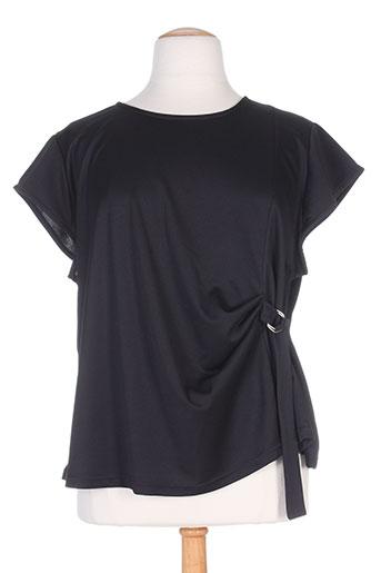 spg jenuan chemises femme de couleur noir