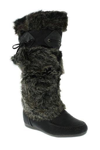 miss et claudine bottes femme de couleur marron