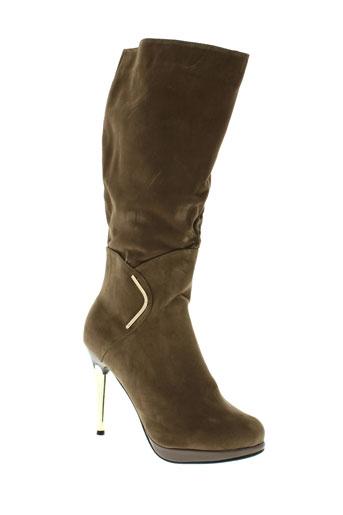 laura et mode bottes femme de couleur marron