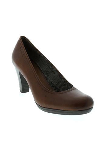 tamaris escarpins femme de couleur marron