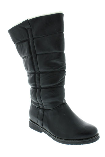 weide bottes femme de couleur noir
