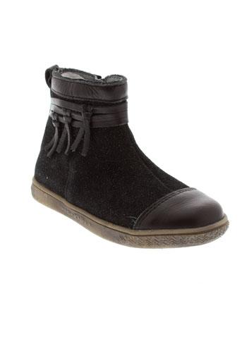 babybotte bottines fille de couleur noir