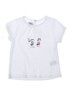 Produit-T-shirts / Tops-Fille-PETIT BATEAU
