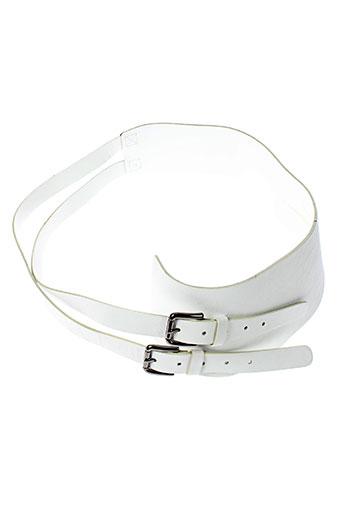 sergio renato accessoires femme de couleur blanc